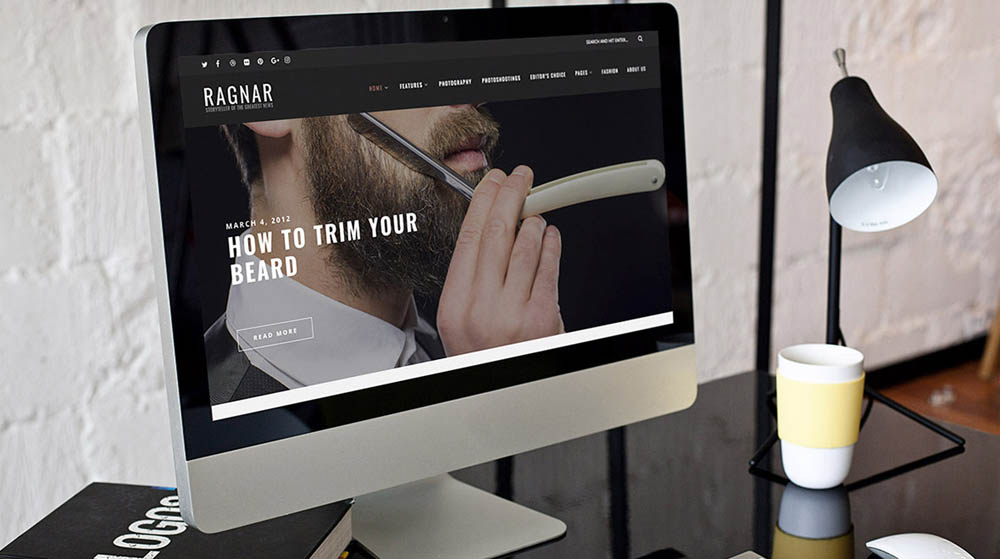 Ragnar WordPress Blog Theme