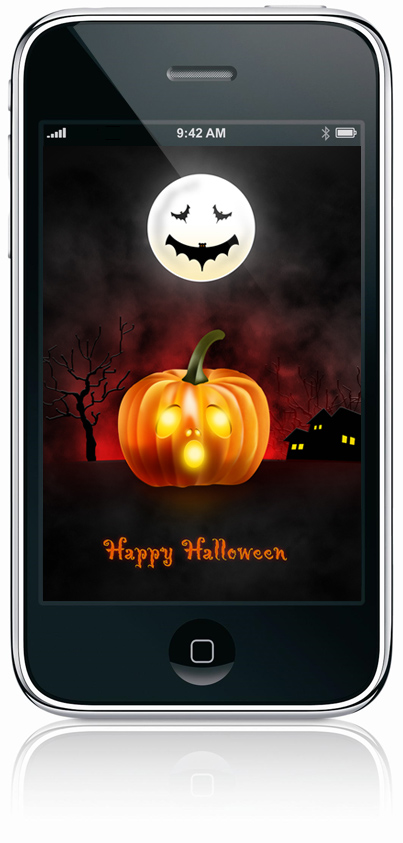 Halloween Wallpaper For Desktop Ipad Iphone Psd Icons Included Graphicsfuel