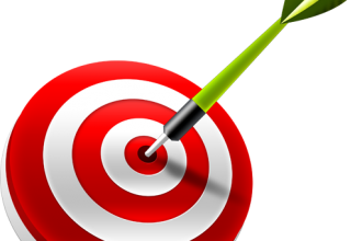 3D target & dart PSD & icons