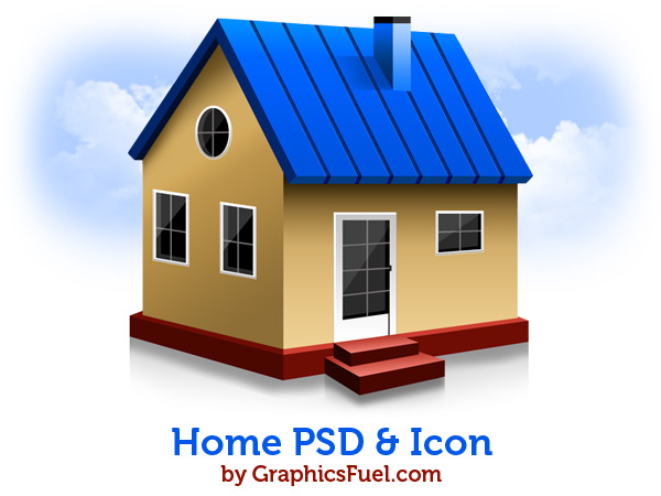 Home PSD & icons