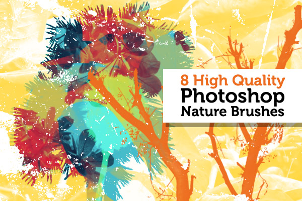 High quality Photoshop nature brushes