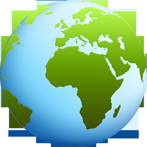 World globe PSD & icons - GraphicsFuel