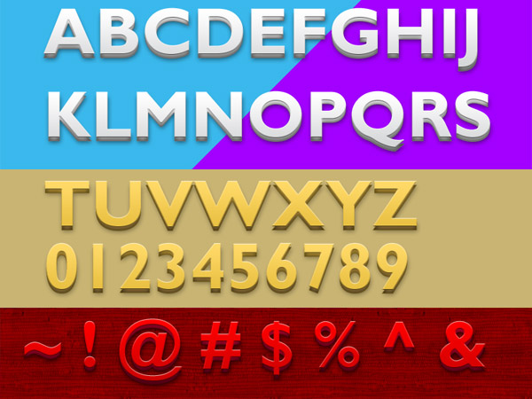 Friends Todays PSD Download Is A Set Of 3D Text Styles In Photoshop Format The Come 3 Different Colors And Background Layered