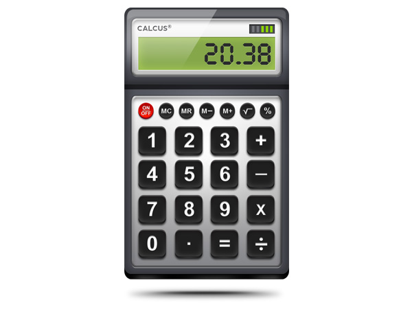 Calculator PSD icon
