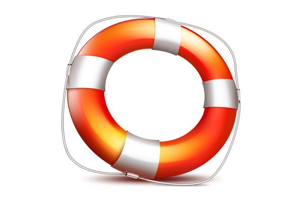Help icon (PSD lifebuoy)