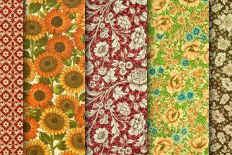 Giveaway: Hi-resolution floral paper textures