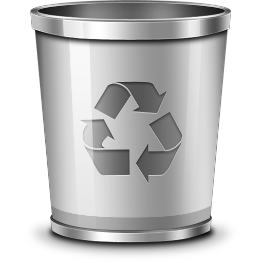 Recycle bin icon (PSD) - GraphicsFuel