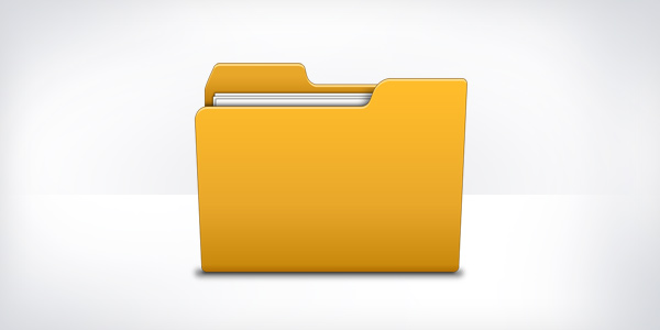 Folder Icon Psd Graphicsfuel