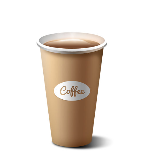 Paper coffee cup icon (PSD) - GraphicsFuel