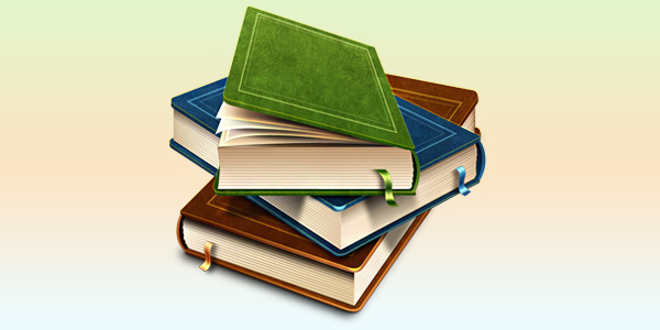 Books Icon PSD