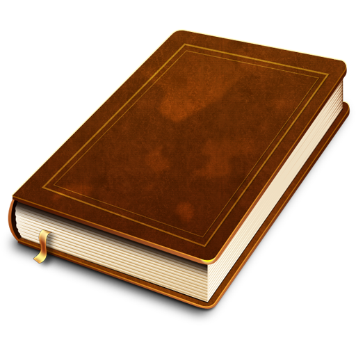Old Law Book Cover ~ Books icon psd graphicsfuel