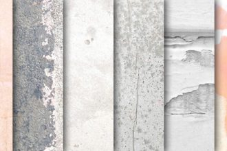 Light subtle grunge textures pack
