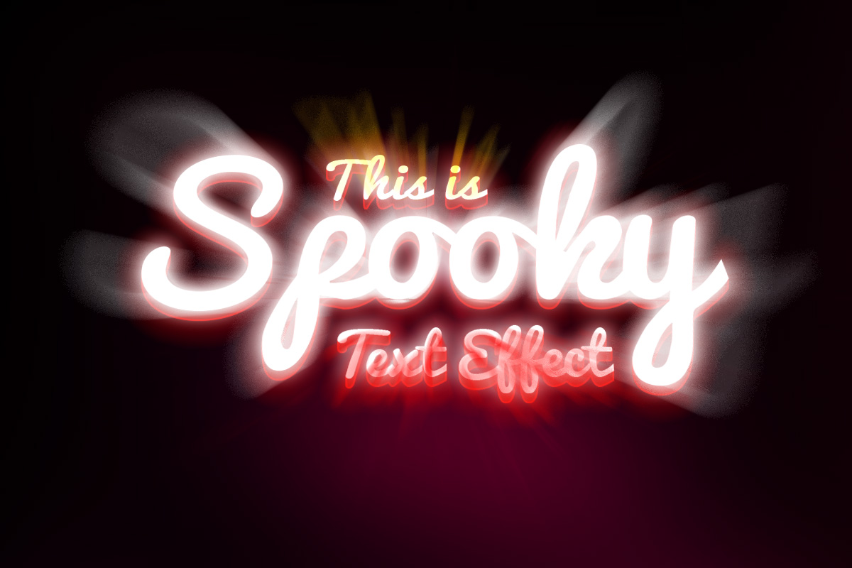 spooky text effect psd graphicsfuel