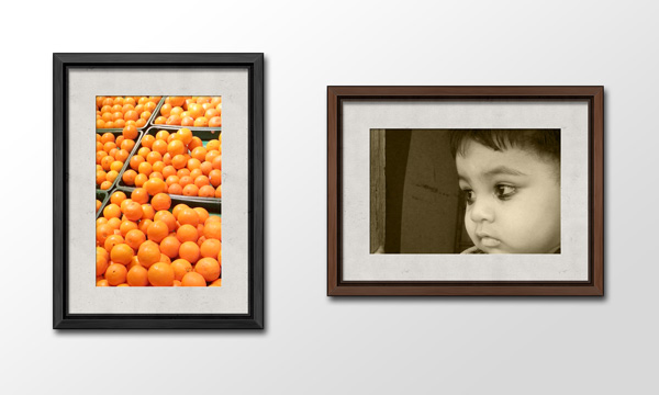 Wooden Photo Frames PSD - GraphicsFuel