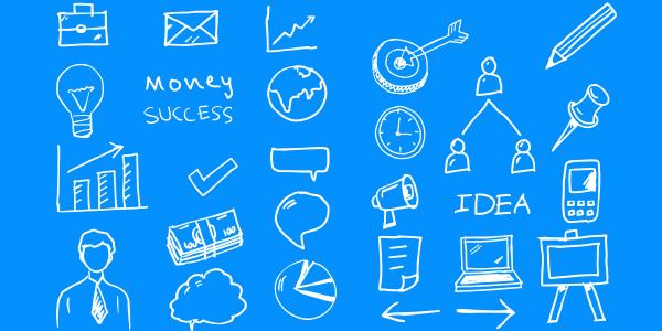 business-doodles-vector