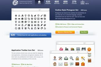 Icons Giveaway: 3 Business Subscriptions ($199 each) From WebIconSet.com