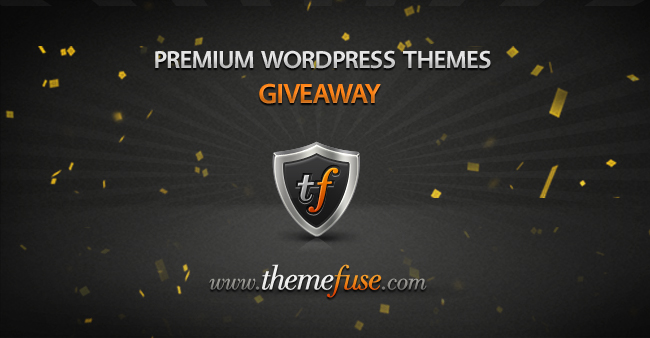 Giveaway: 3 Premium WordPress Themes from ThemeFuse