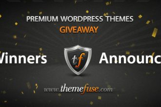 ThemeFuse Giveaway Winners Announced