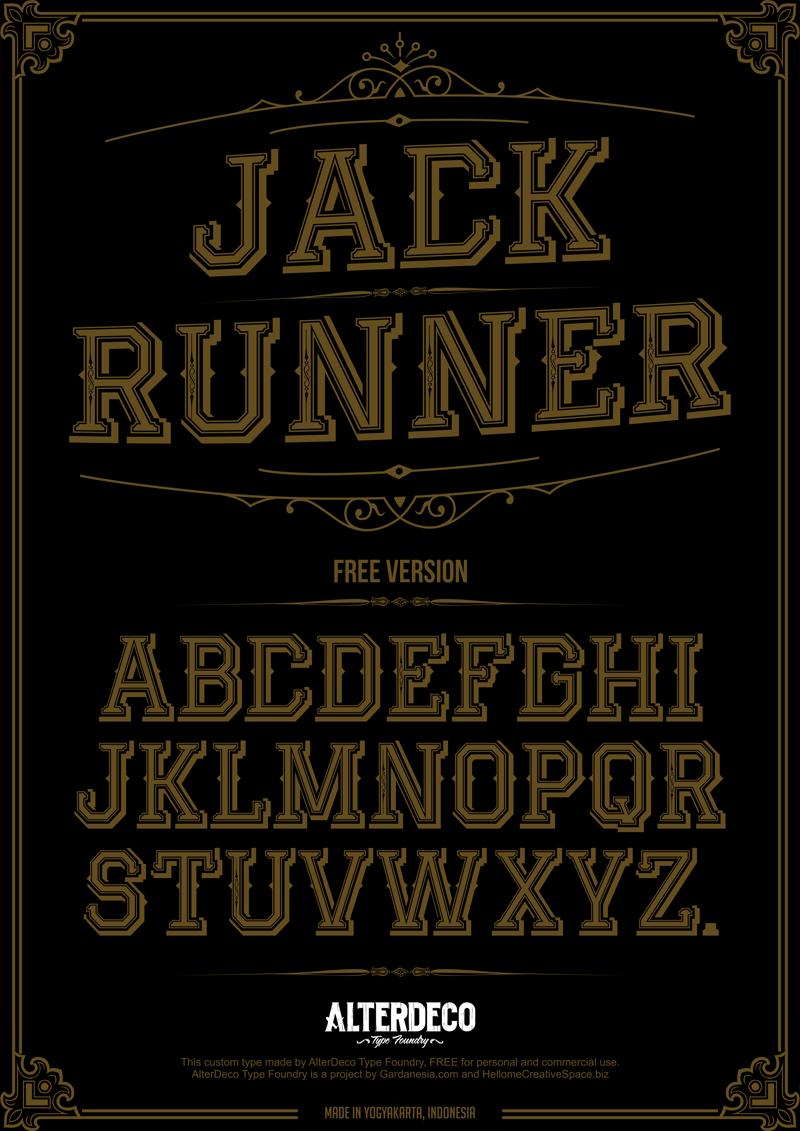 jackrunner-font