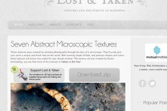 12 Websites to Download Free Textures & Patterns