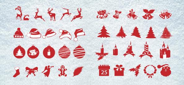 Christmas_Silhouettes_Mega_Pack