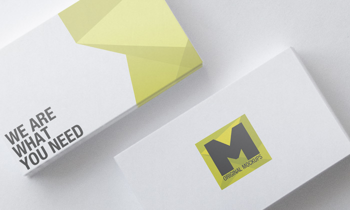 business-card-mockup-yellow