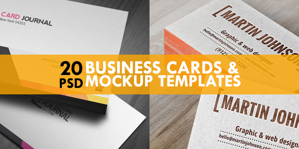 20 free business cards mockup psd templates graphicsfuel 20 free business cards mockup psd templates reheart Image collections