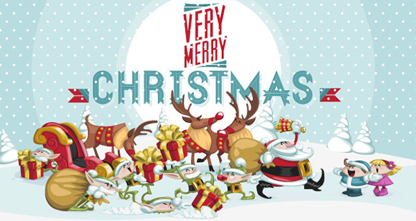 merry-christmas-characters-funny-vector