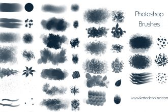 15 Free Photoshop Drawing & Painting Brush Sets