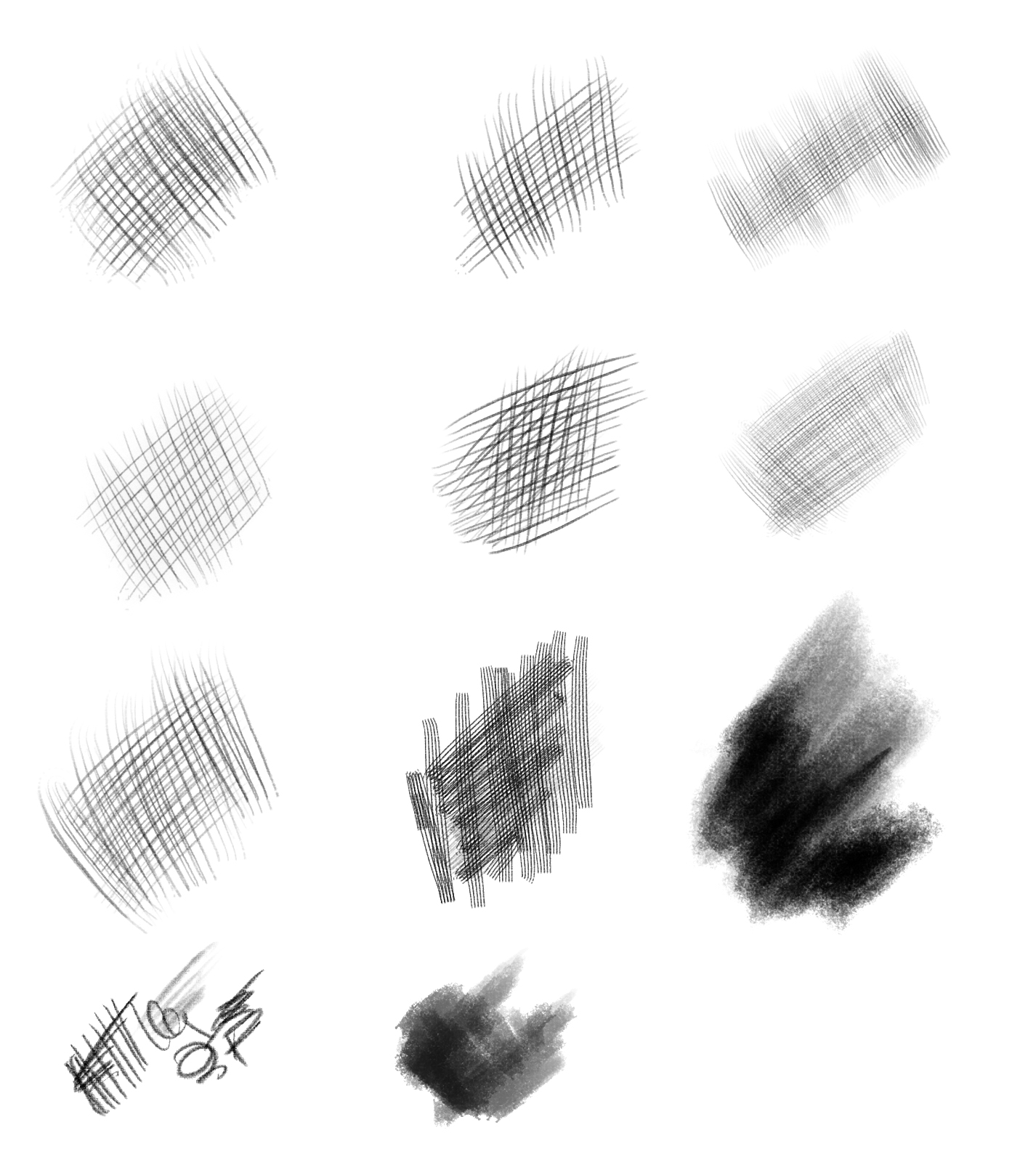 Drawing Lines With Tablet : Free photoshop drawing painting brush sets graphicsfuel