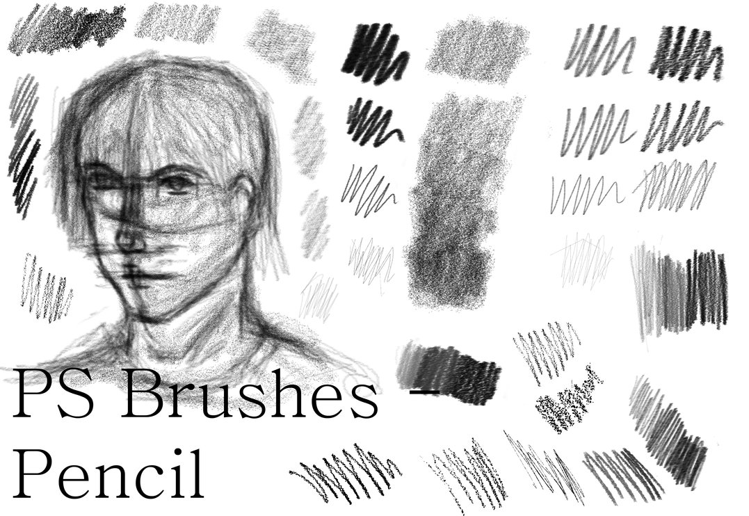 ps pencil brushes