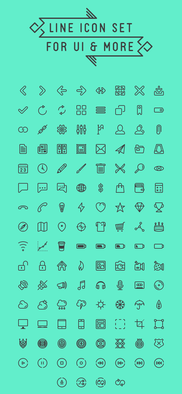 line-icon-set