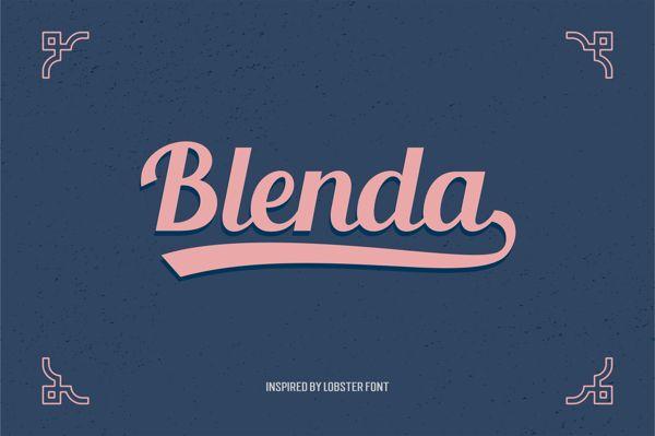 blenda-script-font