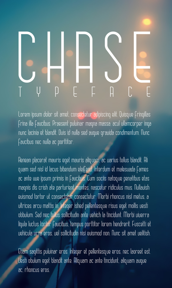 chase-free-font