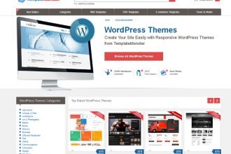 Giveaway: 5 WordPress Themes from TemplateMonster