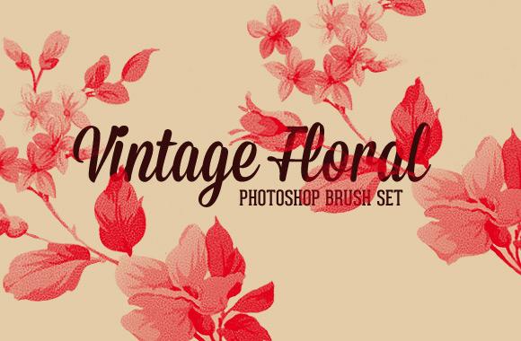 vintage-floral-brushes