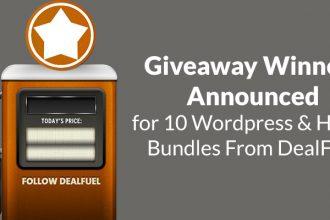 DealFuel Giveaway Winners Announced