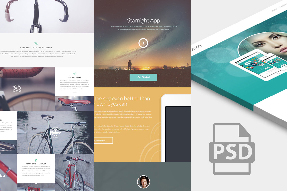 free-website-psd-templates-featured