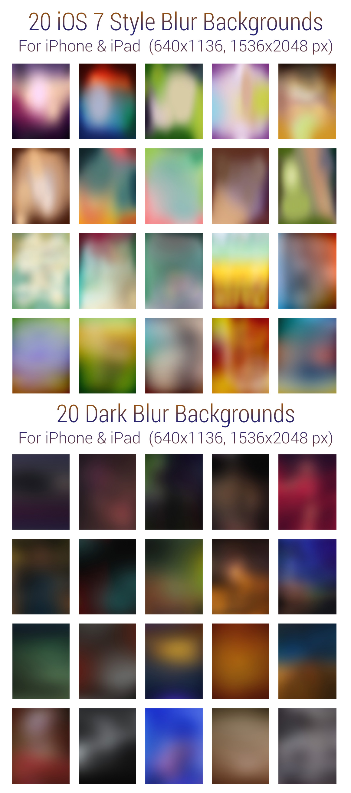 160 blur gradient backgrounds for iphone ipad - 1536x2048 ipad ...