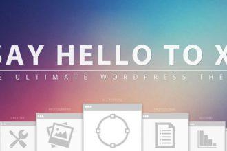 Giveaway: Win One Amazing WordPress Theme X 2.0