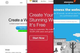 3 Online Free Website Builders to Design a Beautiful Website