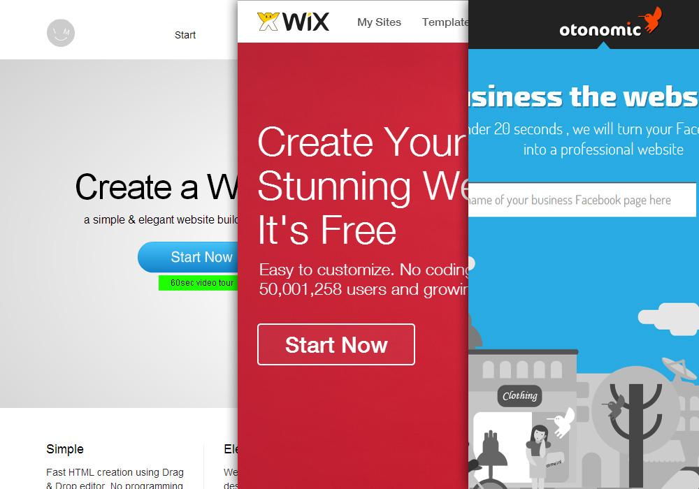 3 Online Free Website Builders to Design a Beautiful Website