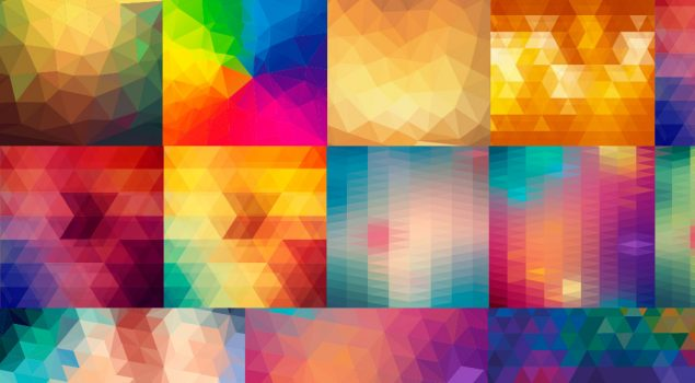 Exclusive Freebie: 24 Vector Polygon Backgrounds From Freepik