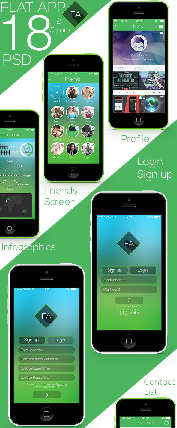 flat-app-ui-psds