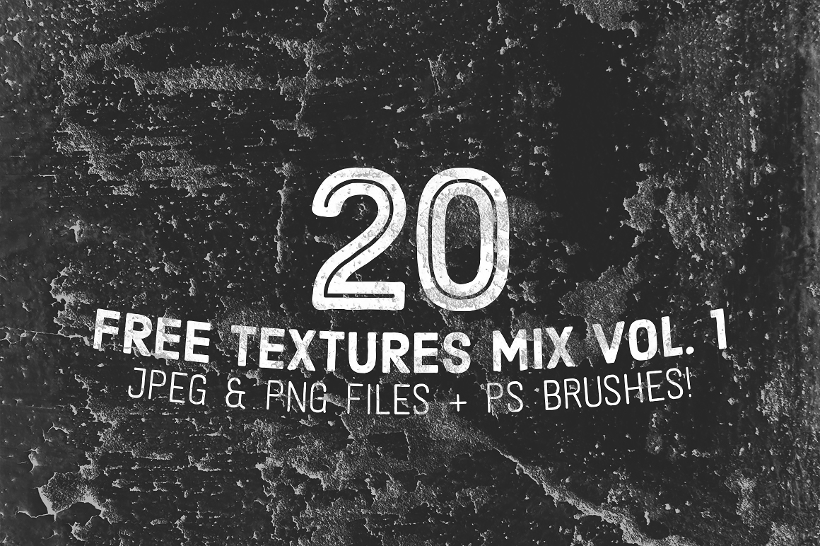 20 Free Textures & Brushes