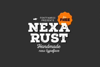 Nexa Rust 5 Free Fonts