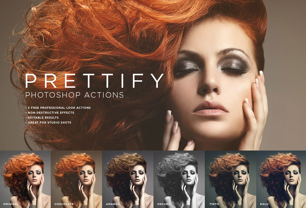 5 Free Photoshop Actions For Studio Shots