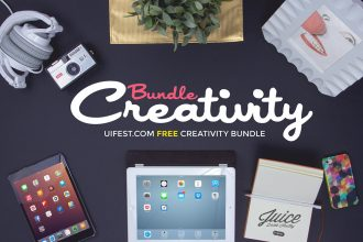Free Creativity Mockups Bundle