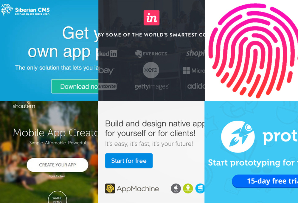 15 Top Prototyping and App Creation Tools