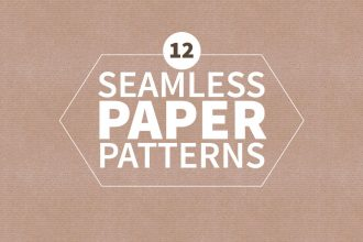 12 Free Seamless Paper Patterns